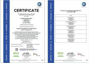 BRC certificaat 2020-2021